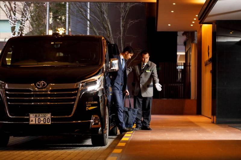 金沢ハイヤーのラグジュアリータクシー『ルクスノード』で上質な旅を