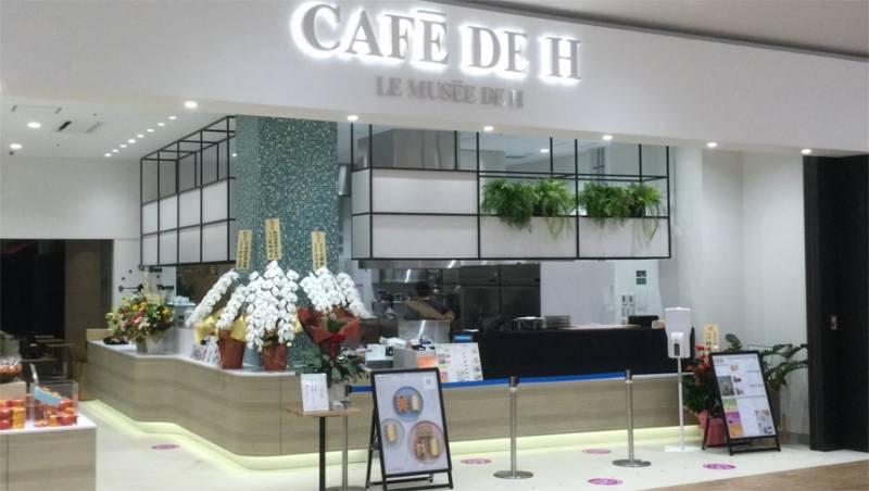 「カフェ ドゥ アッシュ イオンモール白山」オープン!